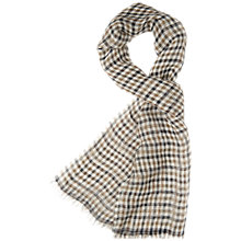 Buy Aquascutum Check Pattern Scarf Online at johnlewis.com