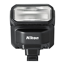 Buy Nikon SB-N7 Speedlight Flash for Nikon 1 Cameras, Black Online at johnlewis.com