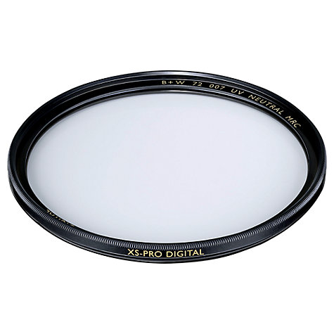 Buy B+W XS-PRO UV-Haze Lens Filter, 58mm Online at johnlewis.com