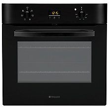 Buy Hotpoint SH53KS Single Electric Oven, Black Online at johnlewis.com