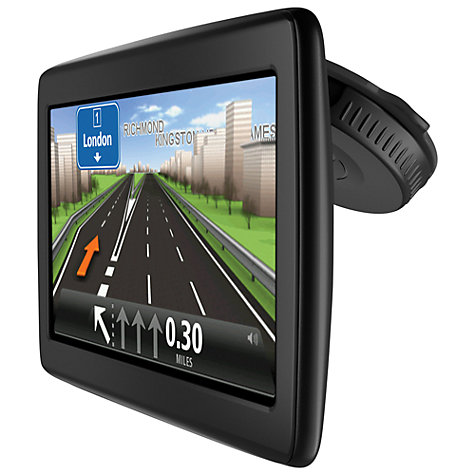 Buy TomTom Start 25 M GPS Navigation System, Free Lifetime Europe Maps Online at johnlewis.com