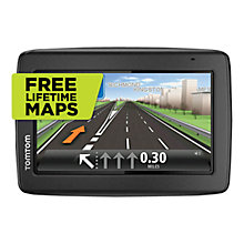 Buy TomTom Start 25 M GPS Navigation System, Free Lifetime UK & Republic of Ireland Maps & Carry Case Online at johnlewis.com