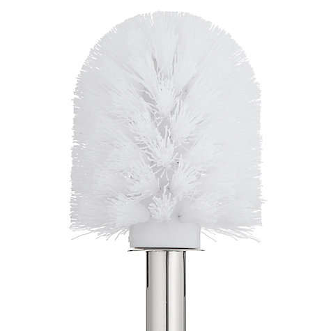Buy John Lewis Short Toilet Brush and Holder, Stainless Steel Online at johnlewis.com
