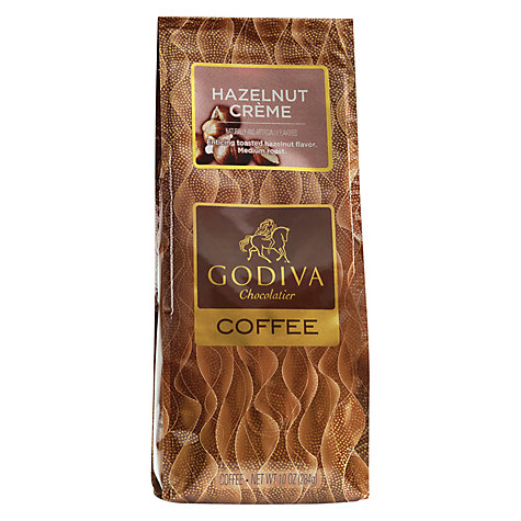 Buy Godiva Hazelnut Cream Coffee Blend, 284g Online at johnlewis.com