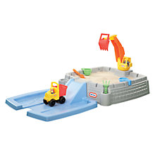 Buy Little Tikes Big Digger Construction Sandbox Online at johnlewis.com