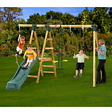 Buy Plum Meerkat Swing Set Online at johnlewis.com