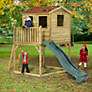 Plum Premium Wooden Adventure Playhouse with Slide