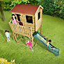 Buy Plum Premium Wooden Adventure Playhouse with Slide Online at johnlewis.com