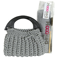 Buy Hoooked Zpagetti Milano Crochet Handbag Starter Kit Online at johnlewis.com