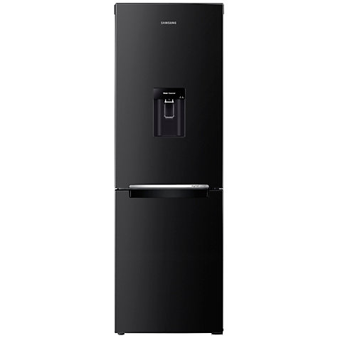 Buy Samsung RB29FWRNDBC Fridge Freezer, Gloss Black Online at johnlewis.com