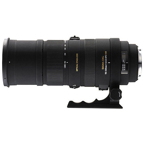 Buy Sigma 150-500mm f/6-6.3 DG OS HSM Telephoto Lens, Canon Fit Online at johnlewis.com