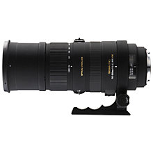 Buy Sigma 150-500mm f/6-6.3 DG OS HSM Telephoto Lens, Nikon Fit Online at johnlewis.com