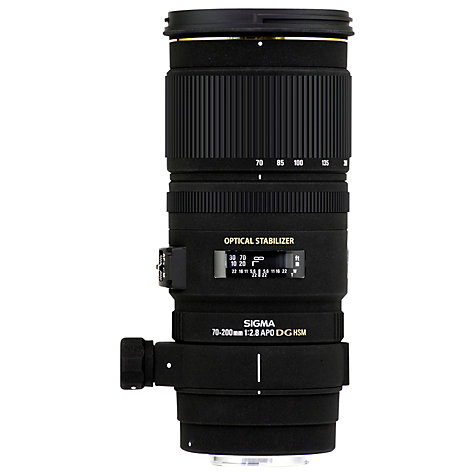 Buy Sigma 70-200mm f/2.8 EX DG OS HSM Telephoto Lens, Canon Fit Online at johnlewis.com