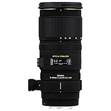 Buy Sigma 70-200mm f/2.8 EX DG OS HSM Telephoto Lens, Nikon Fit Online at johnlewis.com