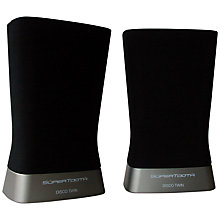 Buy SuperTooth Disco 2 Wireless Speaker, Twin Set, Black Online at johnlewis.com