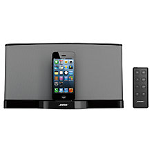 Buy Bose® SoundDock® Series III digital music system, Apple Lightning Connector, Black Online at johnlewis.com