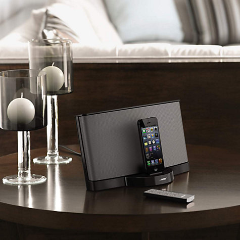 Buy Bose® SoundDock® Series III digital music system with Apple Lightning Online at johnlewis.com