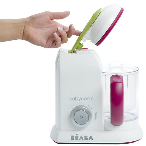 Buy Beaba Babycook Solo 4-in-1 Babyfood Maker, Steamer and Blender Online at johnlewis.com