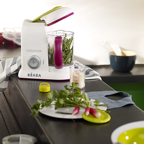 Buy Beaba Babycook Solo 4-in-1 Babyfood Maker, White Online at johnlewis.com