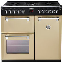 Buy Stoves Richmond 900DFT Dual Fuel Range Cooker, Champagne Online at johnlewis.com