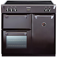 Buy Stoves Richmond 900EI Induction Hob Range Cooker, Black Online at johnlewis.com