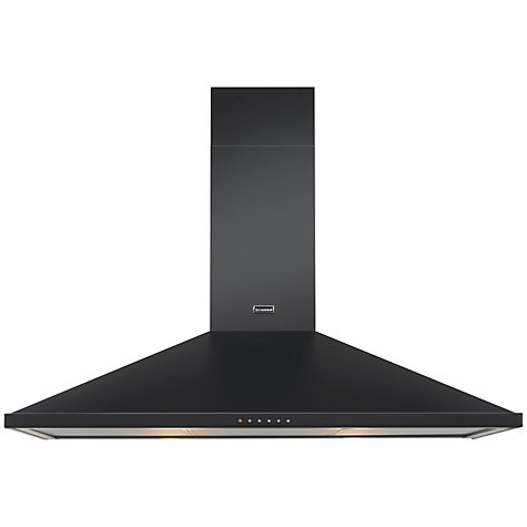 Buy Stoves S1100DCP Chimney Cooker Hood, Black Online at johnlewis.com