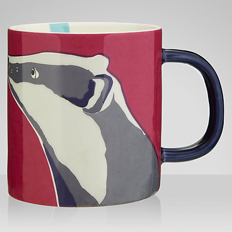 Buy Joules Badger Mug, 0.3L Online at johnlewis.com