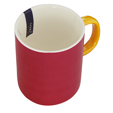 Buy Joules Magenta Mug, 0.3L Online at johnlewis.com