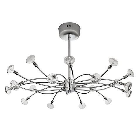 Buy John Lewis Matilda Semi-Flush Light, 20 Arm Online at johnlewis.com