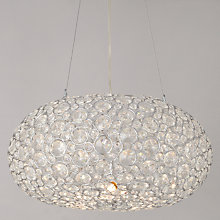 Buy John Lewis Phoebe Crystal Orb Pendant Online at johnlewis.com