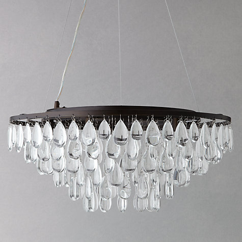 Buy John Lewis Roberta Flat Resto Pendant, 3 Light Online at johnlewis.com