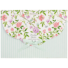 Buy Heathcote & Ivory Sanderson Porcelain Gardens Drawer Liners, Set of 5 Online at johnlewis.com