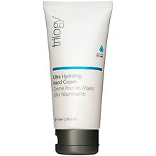 Buy Trilogy Ultra Hydrating Hand Cream, 75ml Online at johnlewis.com