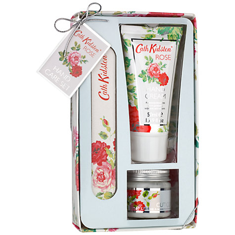 Buy Cath Kidston New Rose Hand Care Set Online at johnlewis.com