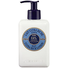 Buy L'Occitane Shea Butter Ultra Rich Body Lotion, 250ml Online at johnlewis.com