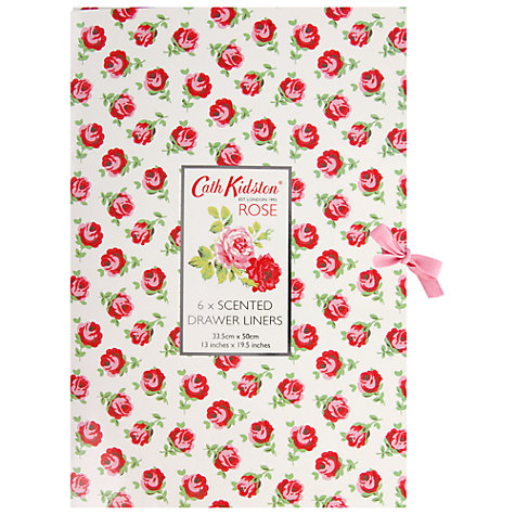 Buy Cath Kidston Scented Drawer Liners, Pack of 6 Online at johnlewis.com
