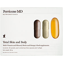Buy Perricone MD Total Skin and Body Supplements, 96g Online at johnlewis.com