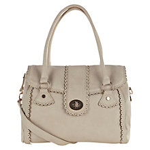 Buy Oasis Scallop Shoulder Bag, Off White Online at johnlewis.com