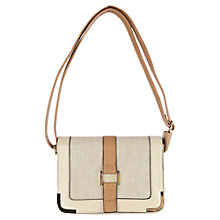 Buy Oasis Canvas Structure Bag Online at johnlewis.com