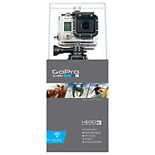 Buy GoPro Hero3: Silver Edition Camcorder, HD 1080p, 11MP, Wi-Fi, Silver Online at johnlewis.com
