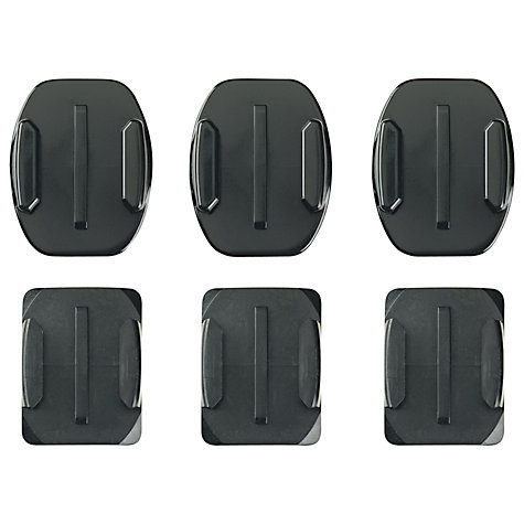 Buy GoPro Flat and Curved Adhesive Mounts Online at johnlewis.com