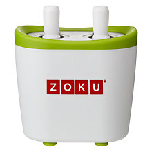 Buy Zoku Duo Quick Pop Maker Online at johnlewis.com