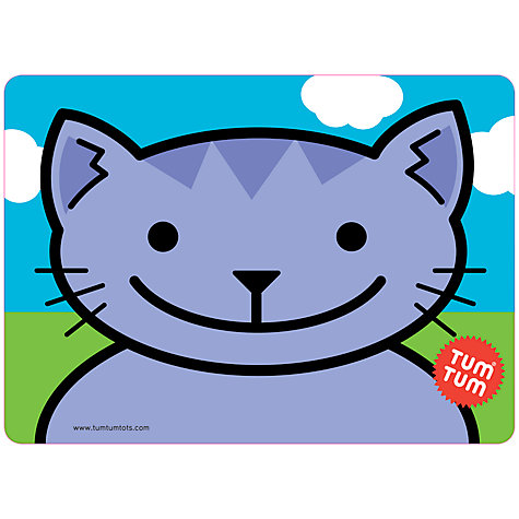 Buy Tum Tum Cat Placemat, Multi Online at johnlewis.com