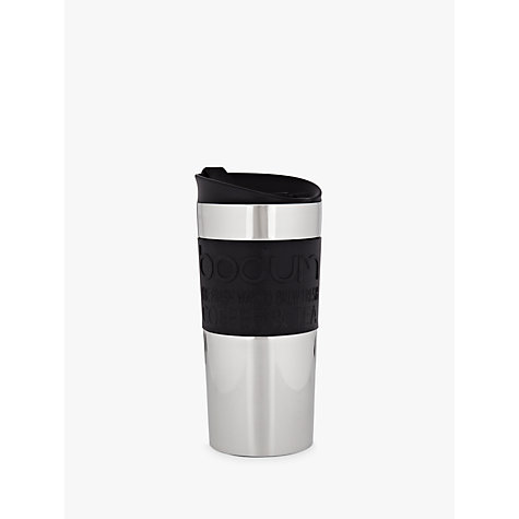 Buy Bodum Stainless Steel Travel Mug, 0.35L Online at johnlewis.com