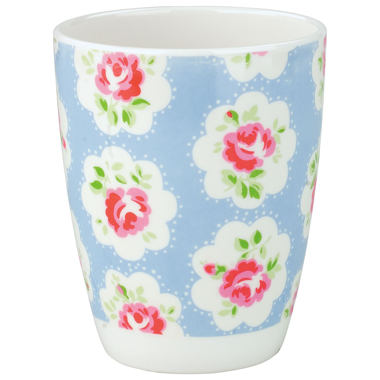 Cath Kidston Provence Rose Beaker, Blue
