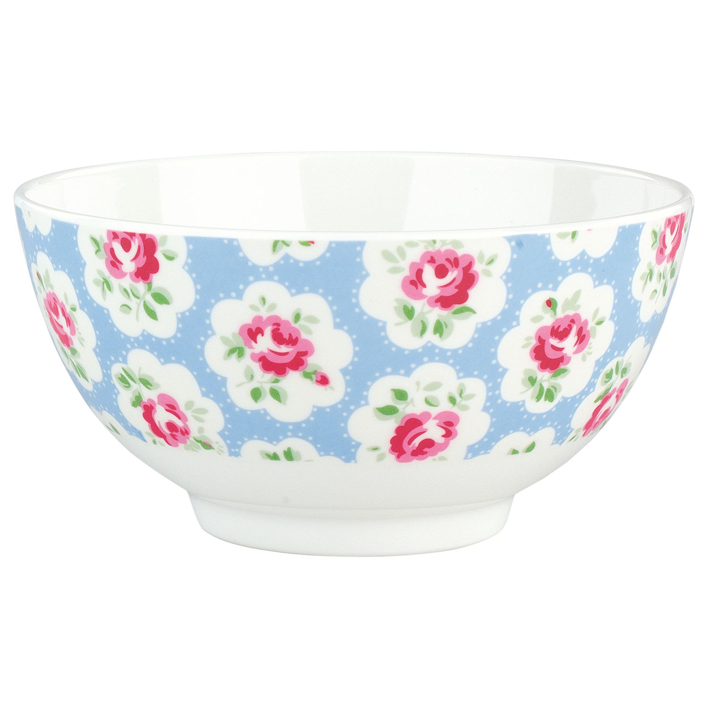 Cath Kidston Provence Rose Melamine Bowl, Blue