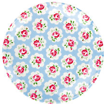 Buy Cath Kidston Provence Rose Melamine Plate, Blue Online at johnlewis.com