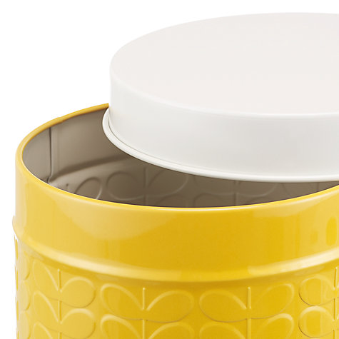 Buy Orla Kiely Raised Stem Kitchen Storage Tin Canisters Online at johnlewis.com