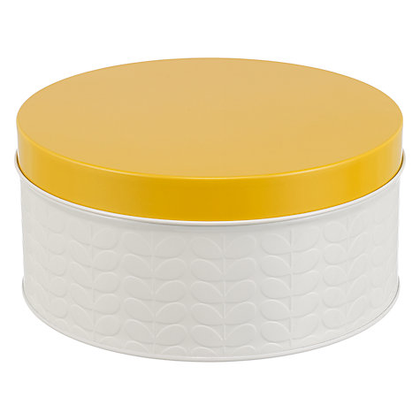 Buy Orla Kiely Raised Stem Kitchen Storage Tin Canisters, Set of 5 Online at johnlewis.com