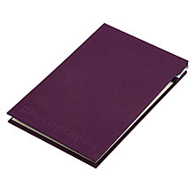 Buy John Lewis Post Bound Slip-In Photo Album Online at johnlewis.com